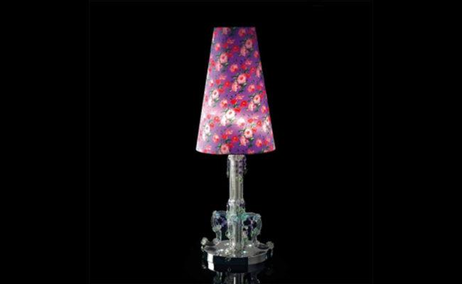 Настольная лампа Beby Beby Rose 0130L01 Elegance Violet Flowers