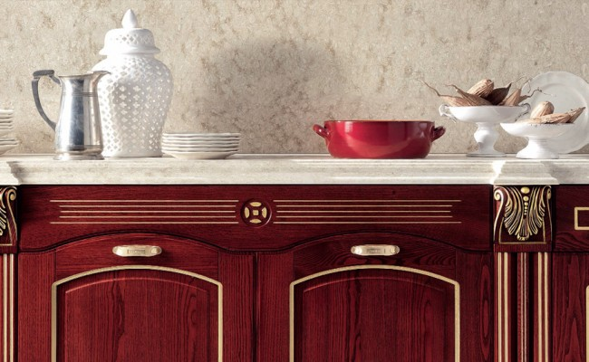 Aran Cucine Imperial Red