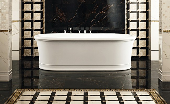 Versace Marble Bianco 240011, Nero 240013