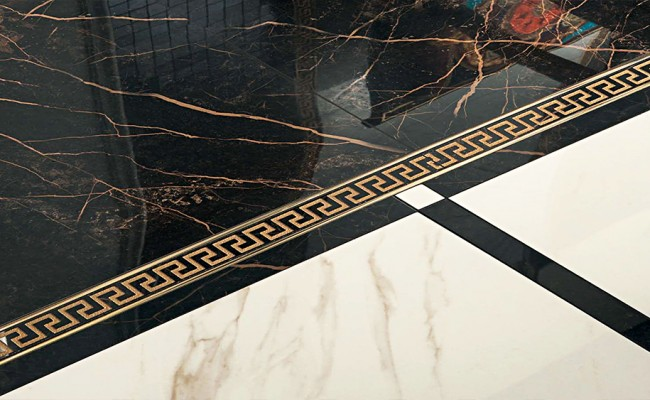 Versace Marble Bianco 240011 Nero 240013