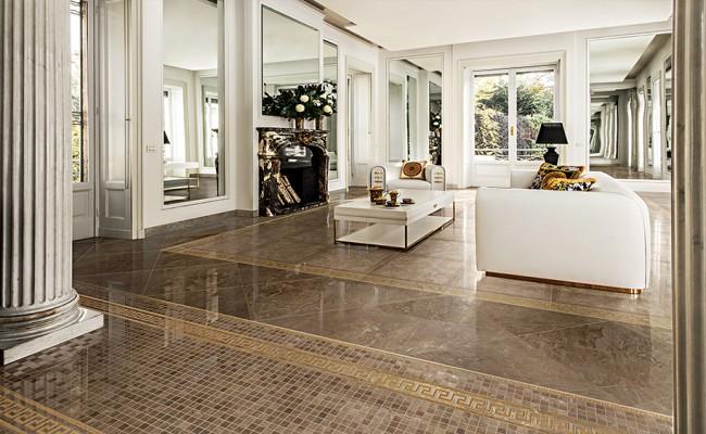 Versace Marble Marrone 240017