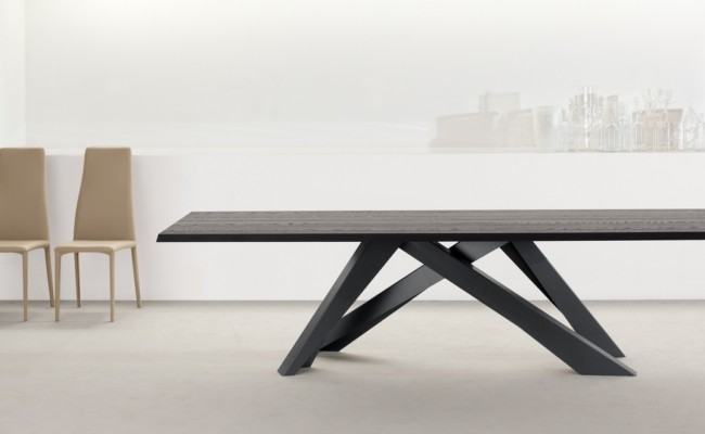 bonaldo big table wood