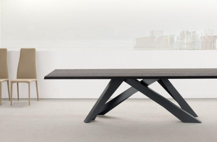 bonaldo big table wood