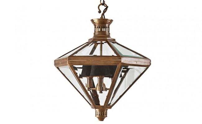 eichholtz lantern mistery vintage brass