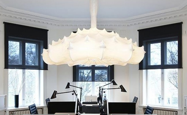flos zeppelin white