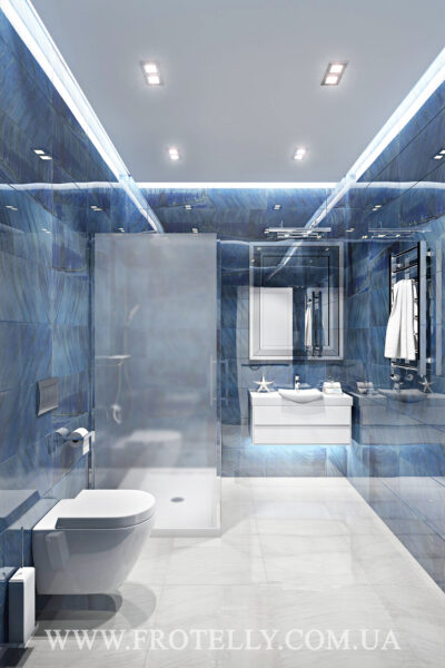 Проект ванной Marazzi Gemstone Blue