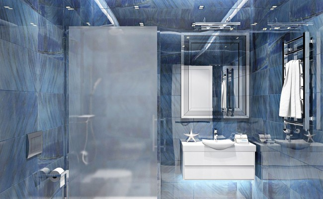 Marazzi Gemstone Blue ванная