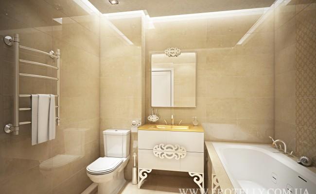 Дизайн ванной Marazzi Stonevision King Beige