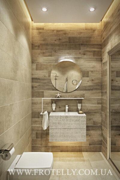 Проект ванной Marazzi Clays Shell