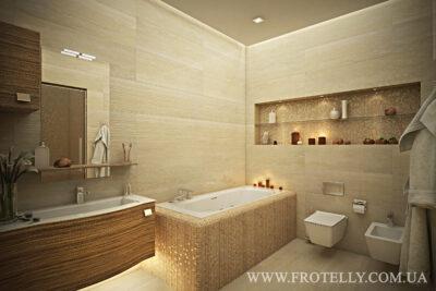 Проект ванной Stonevision Travertino