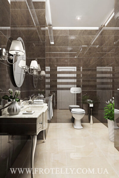 Проект ванной Marazzi Stonevision Grafite 2