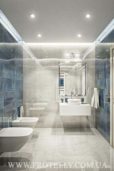 Проект ванной Marazzi Gemstone White