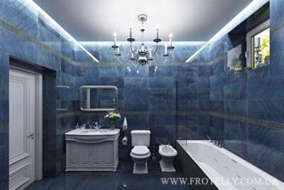 Проект ванной Marazzi Gemstone Blue 2