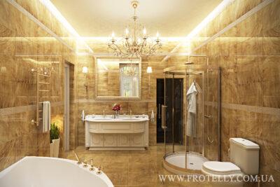 Проект ванной Gemstone Gold