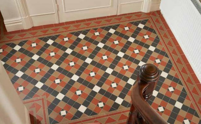 Original Style Victorian Floor Tiles