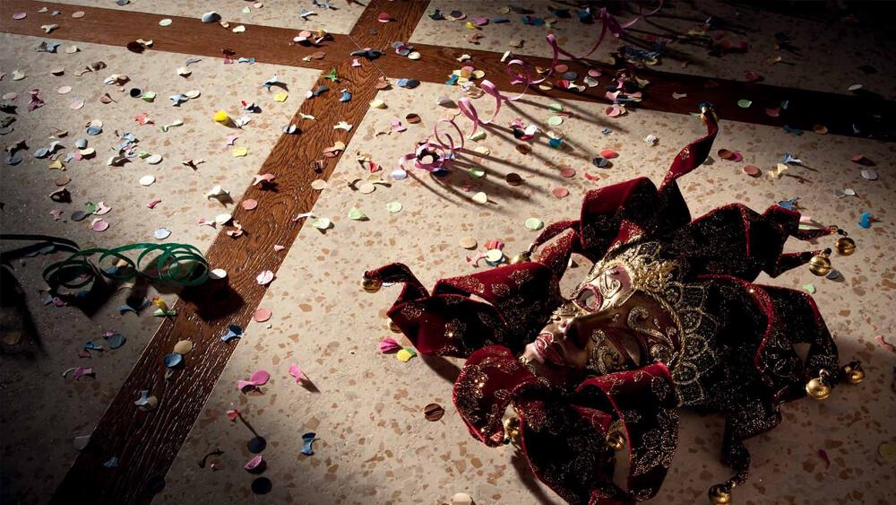 Petracer's Carnevale Veneziano 5 итальянская плитка