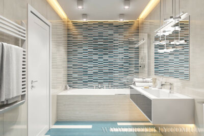 Проект ванной Casalgrande Padana Les Plages