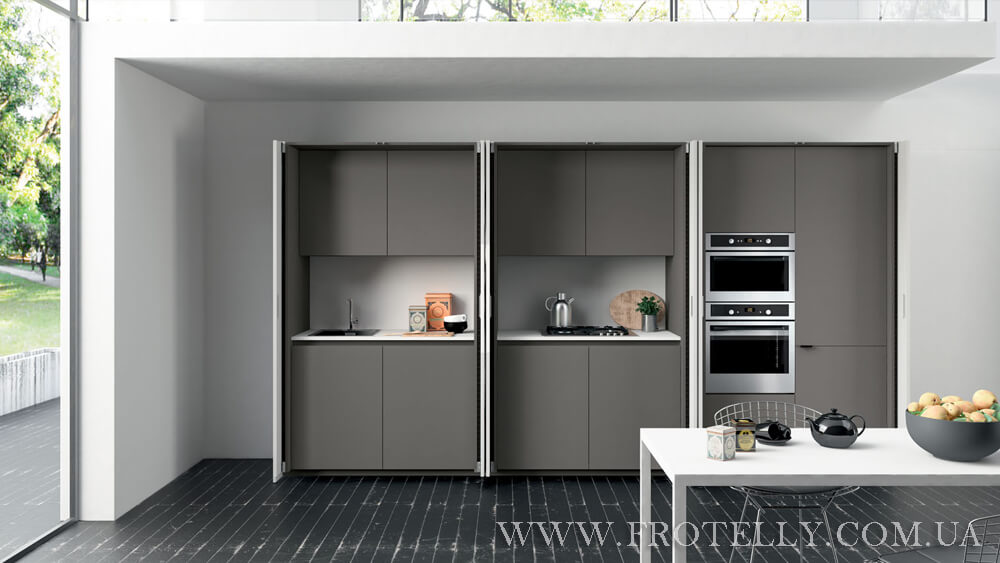 TreO Cucine G30 Laccato 1 итальянские кухни