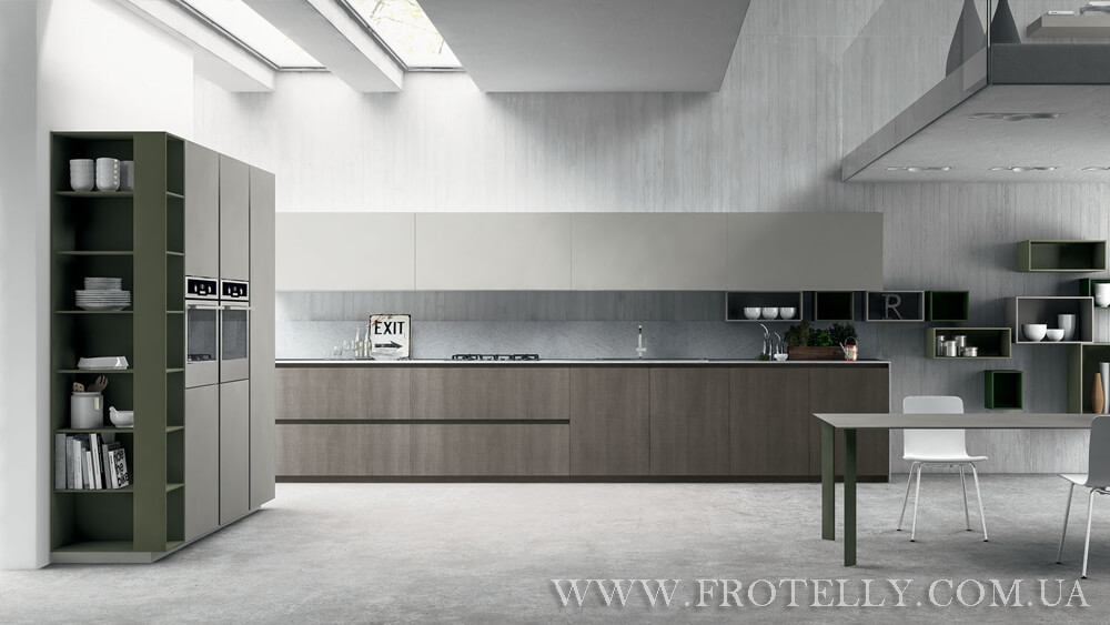 TreO Cucine G30 Nobilitato 1 итальянские кухни