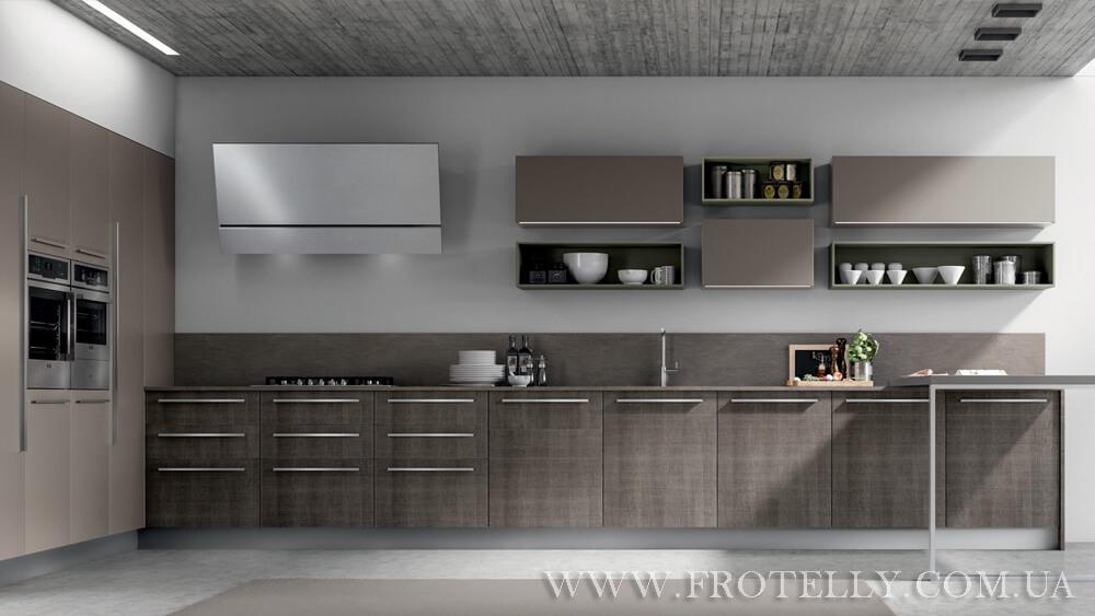 TreO Cucine R20 Nobilitato 1 итальянские кухни