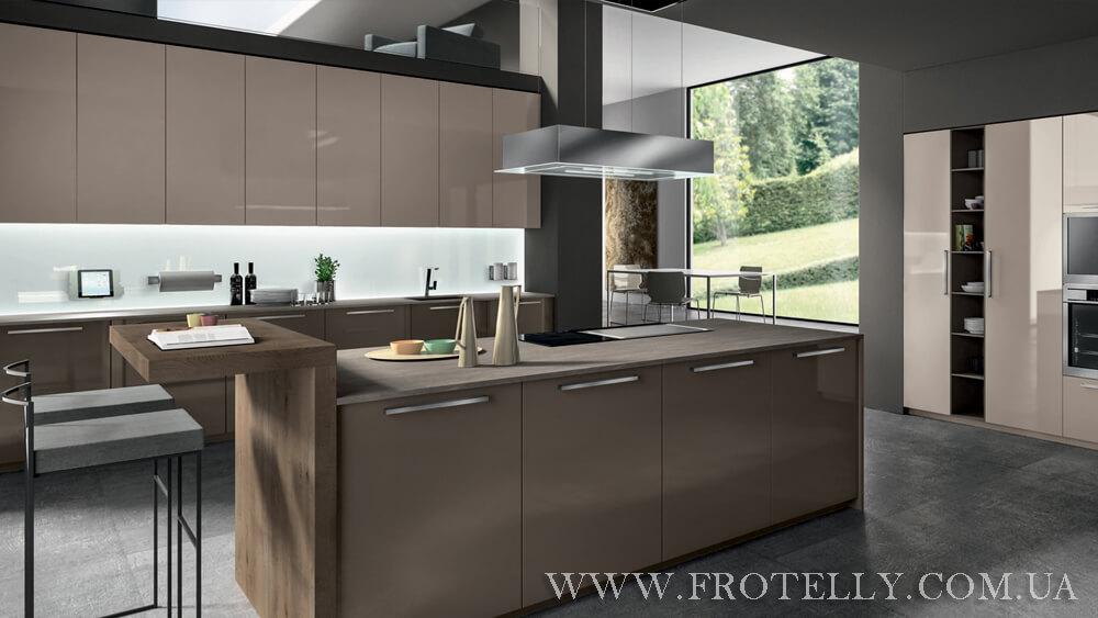 TreO Cucine R20 Polimerico 1 итальянские кухни