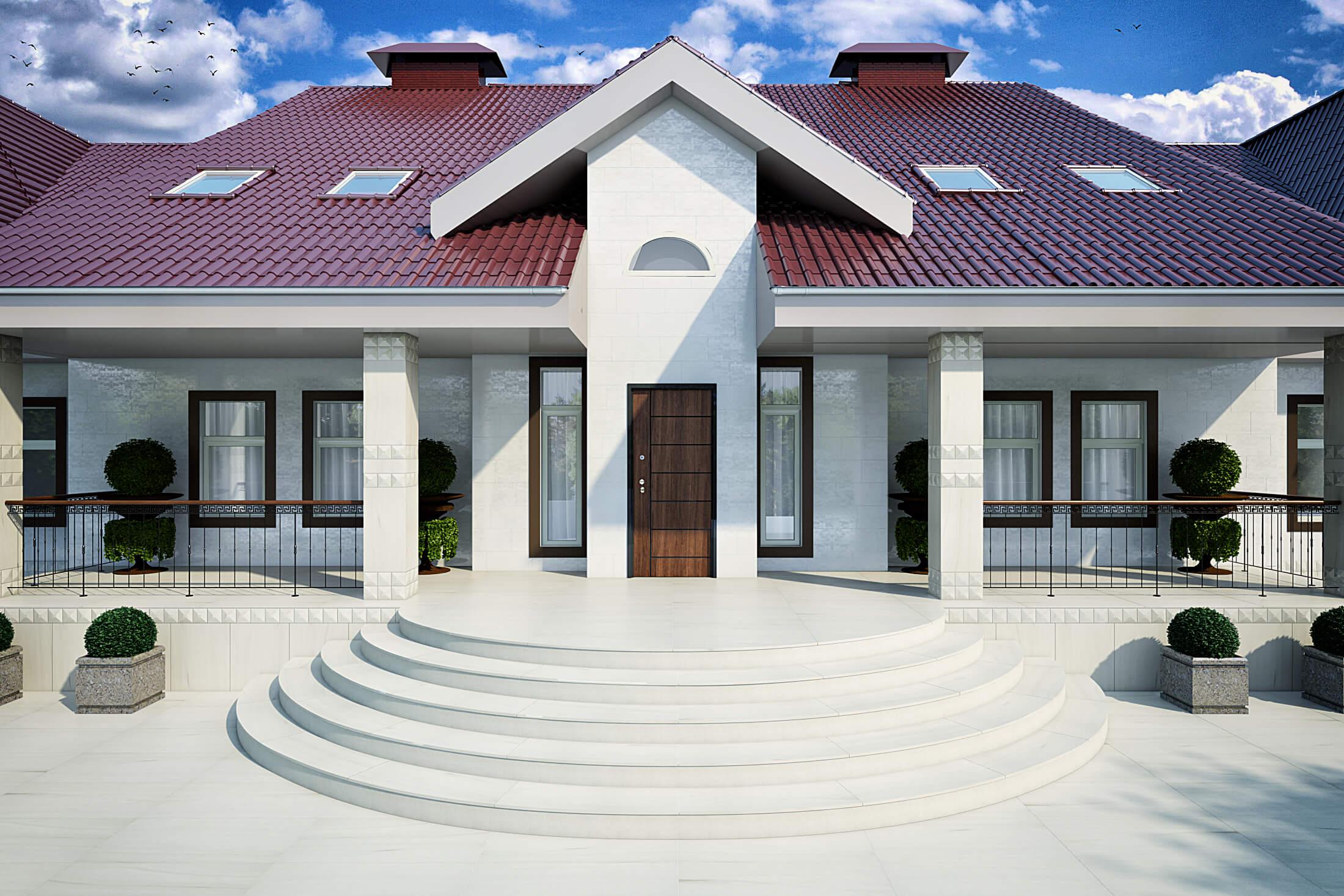 Versace Palace Stone White 2 реализованные проекты