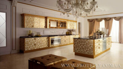 Concreta Cucine Majestic Oro