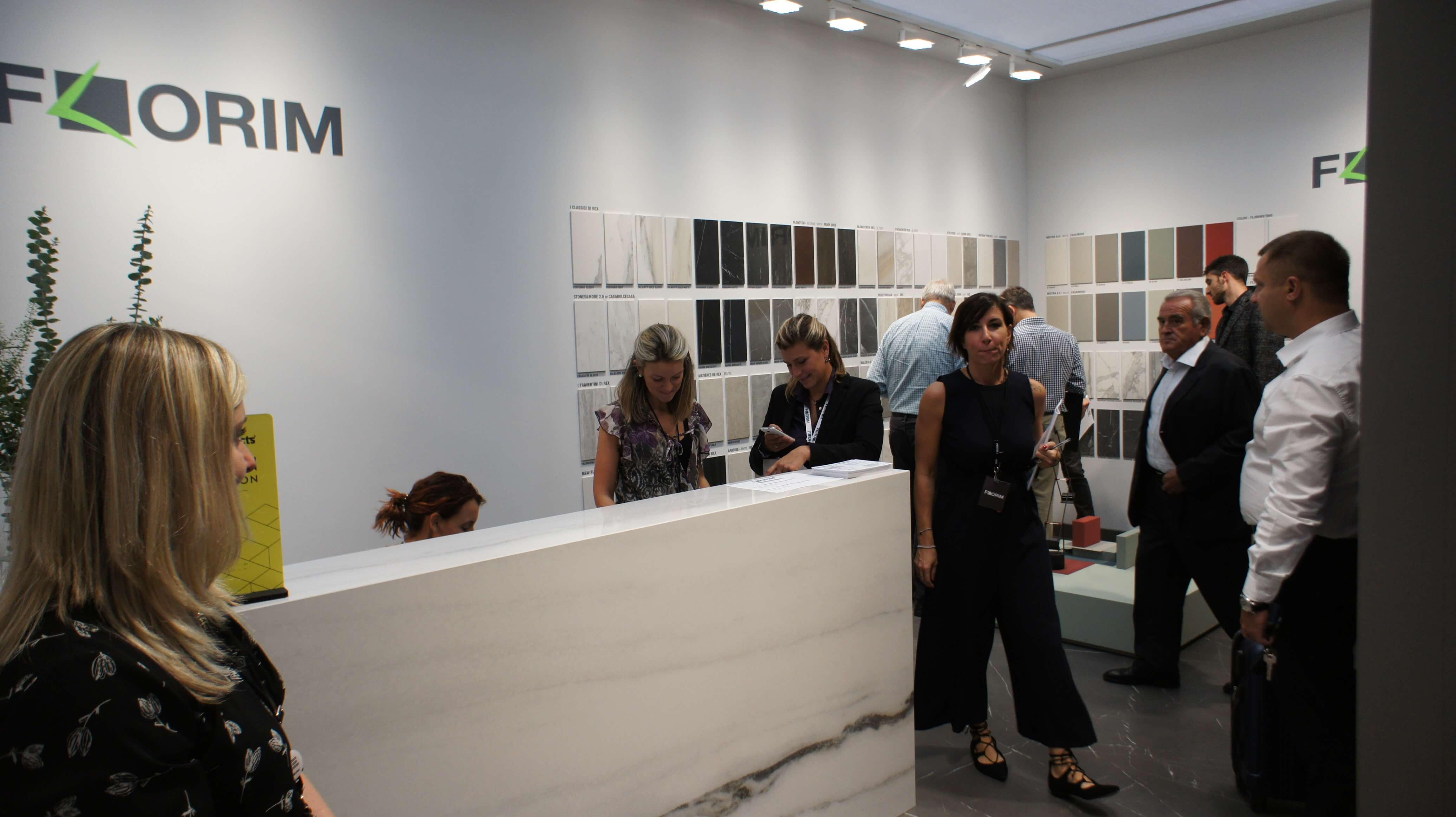 Cersaie 2017 фабрика Rex Ceramiche