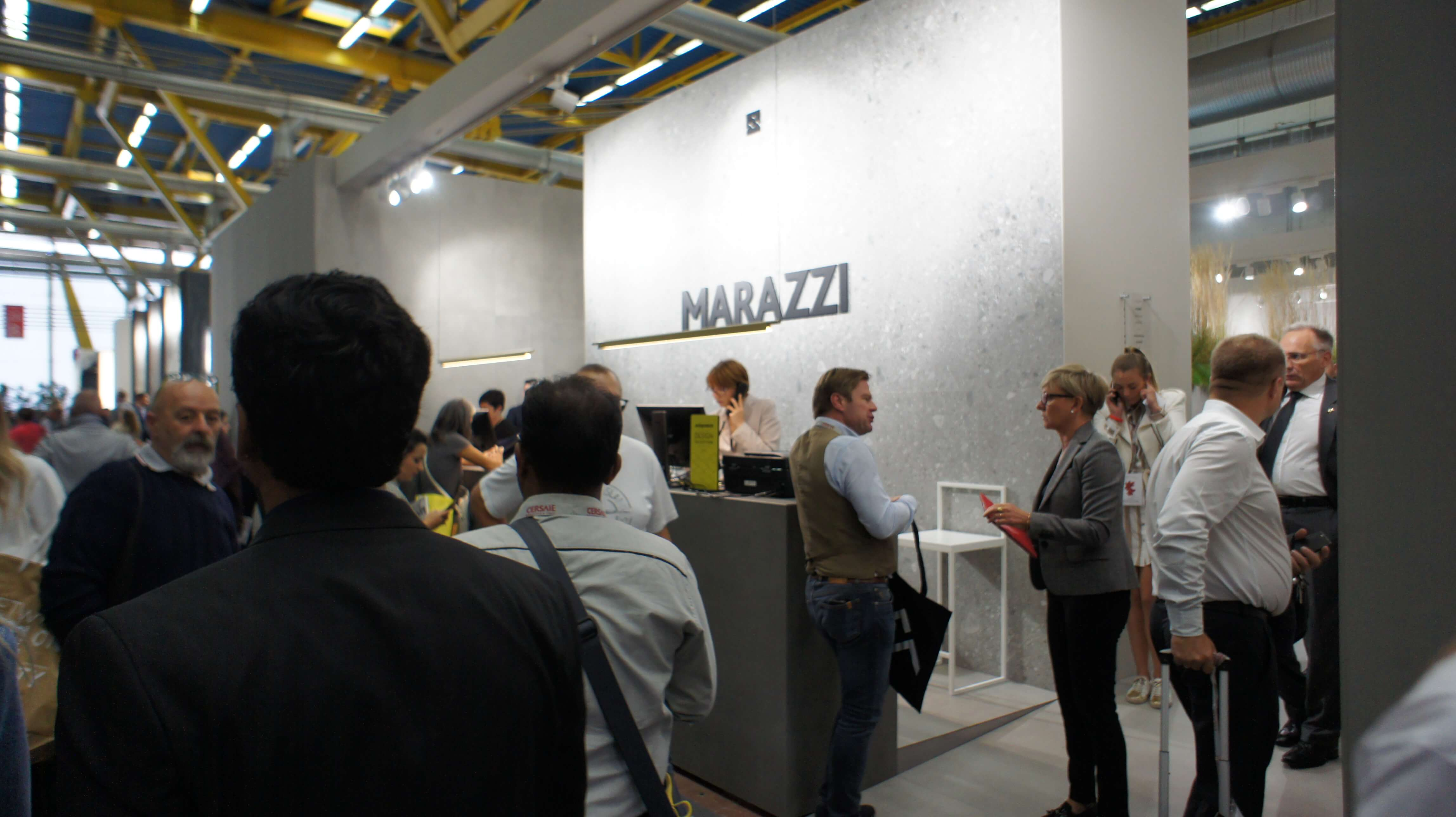 Cersaie 2017 фабрика Marazzi