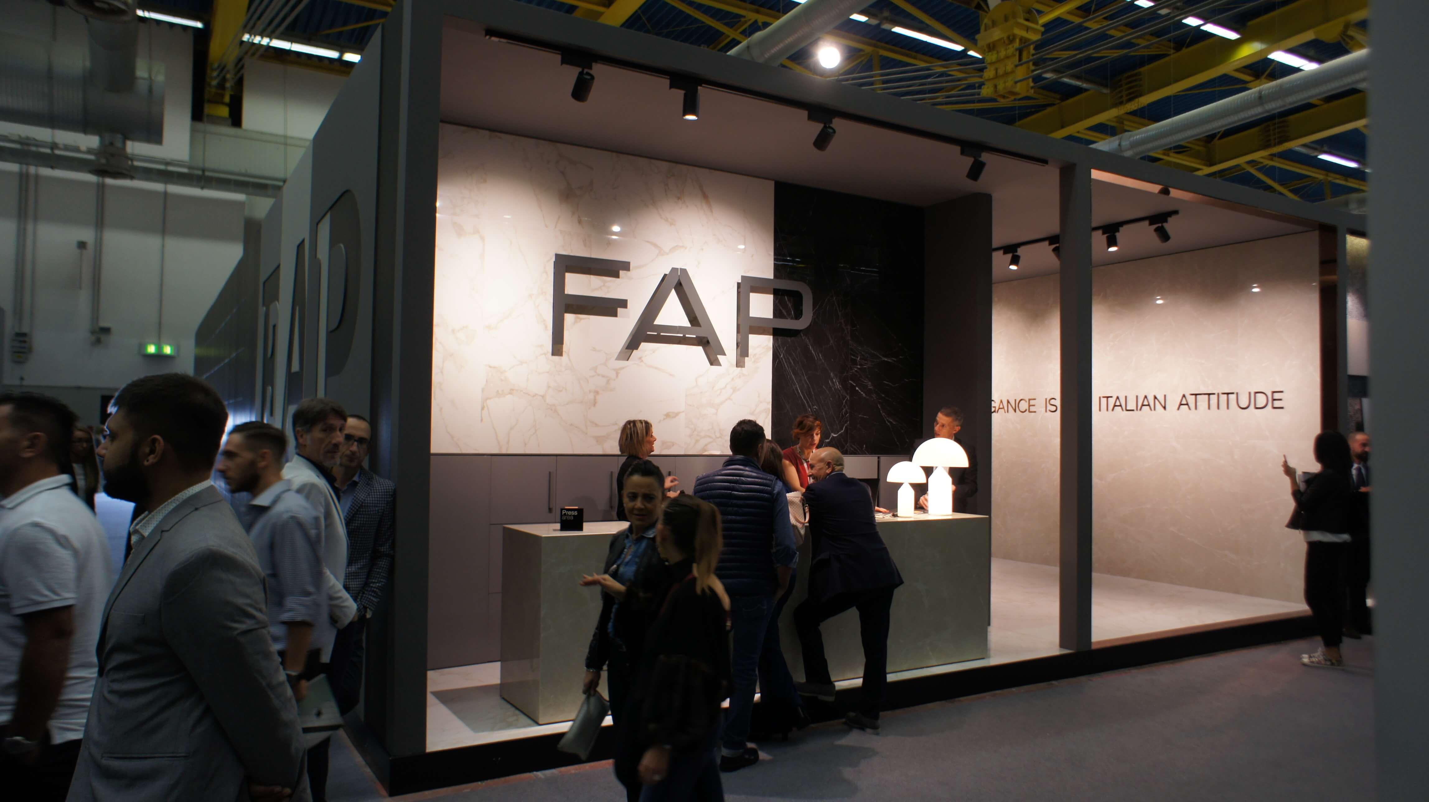 Cersaie 2017 фабрика Fap Ceramiche