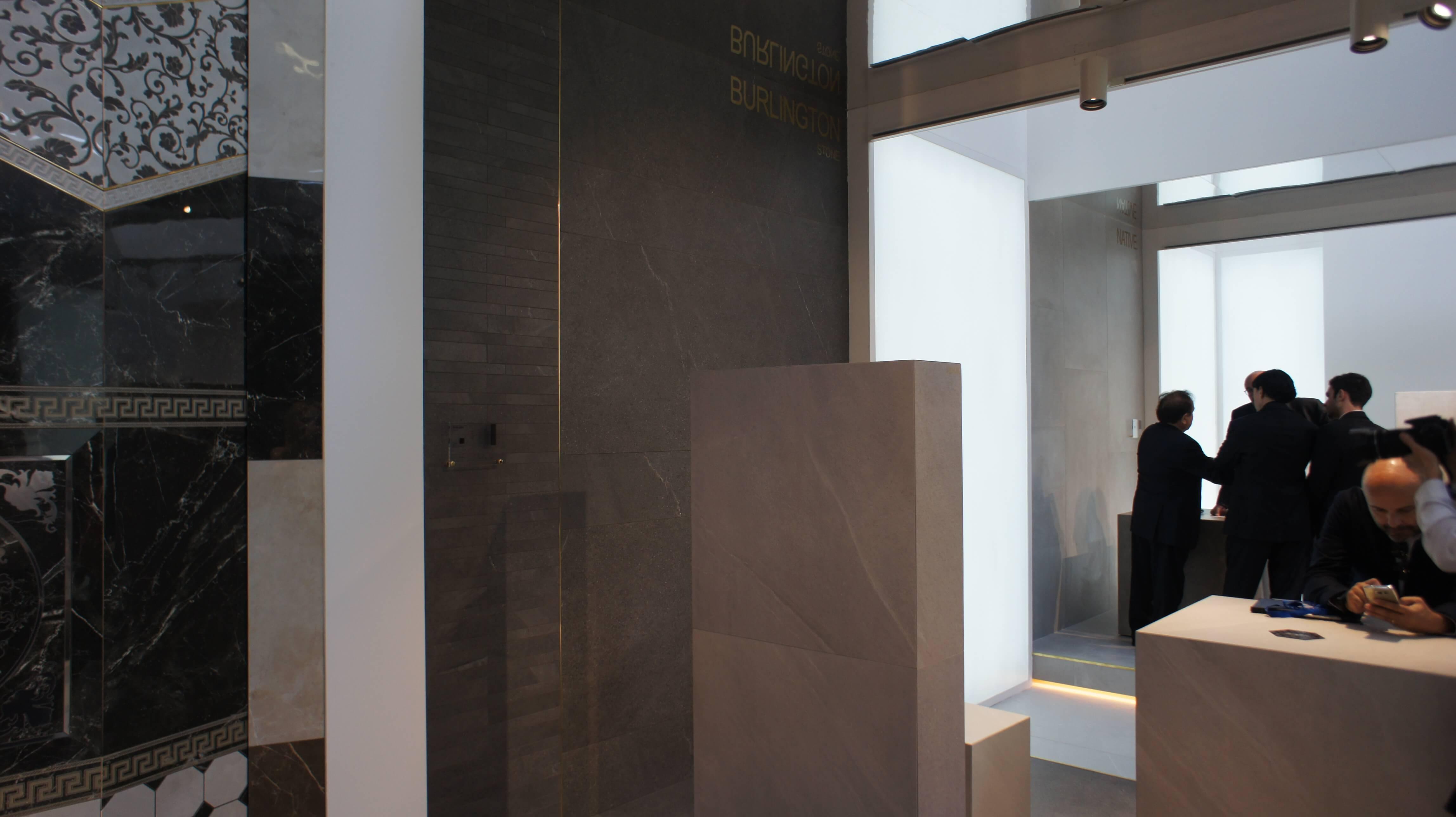 Cersaie 2017 фабрика Versace Ceramics 2