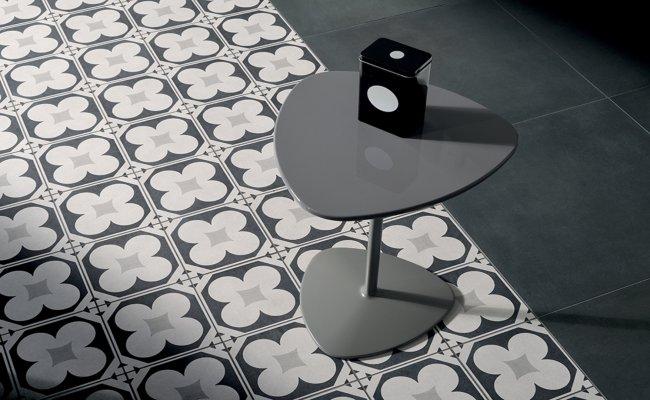 Fioranese Cementine Black White